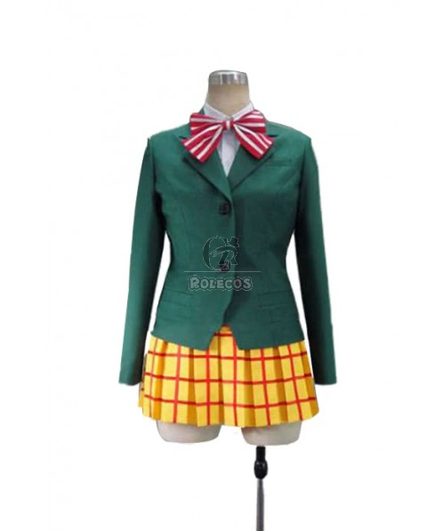 Yowamushi Pedal Miki Kanzaki School Uniform Cosplay Costume