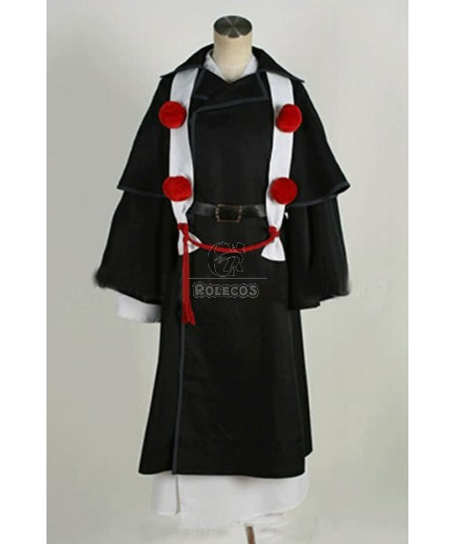 Ao No Exorcist Shima Renzou Cosplay Costume-Made