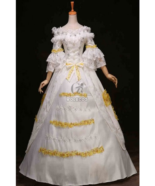 Victorian Dress Cosplay Costume Court Dress For Event