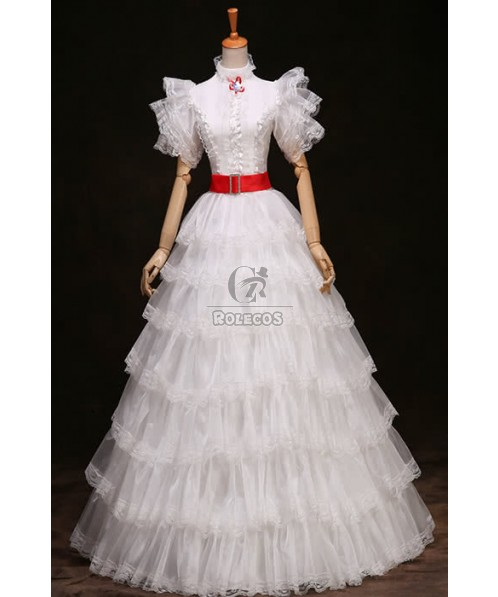 Two Color For Your Select Gothic Victorian Dress Cosplay Costume