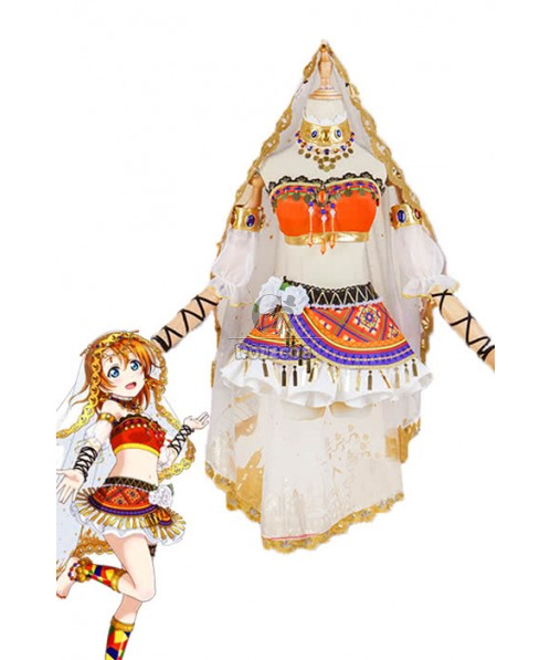 Love Live! Arab Dancers Awaken Honoka Kōsaka Anime Cosplay Costumes