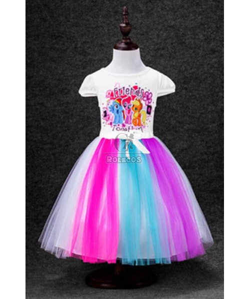 Girl My Little Pony Friendship Is Magic Dress Cosplay