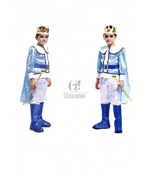 children king halloween Prince Charming party cosplay costume