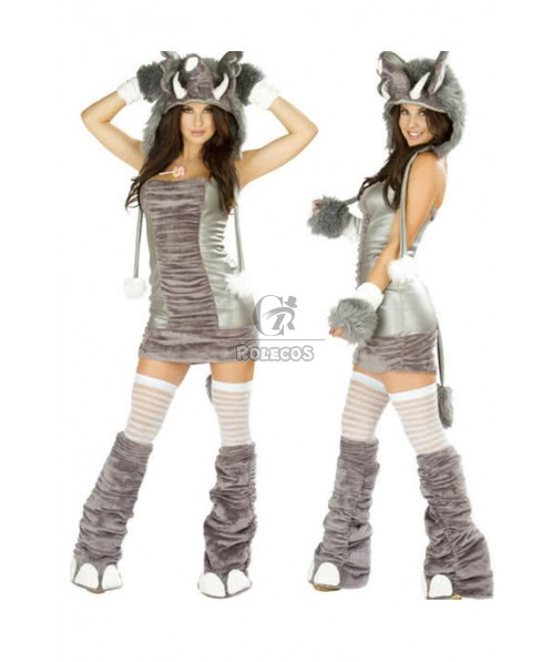 Christmas costumes for women Holloween fantasia cosplay sexy dance outfit