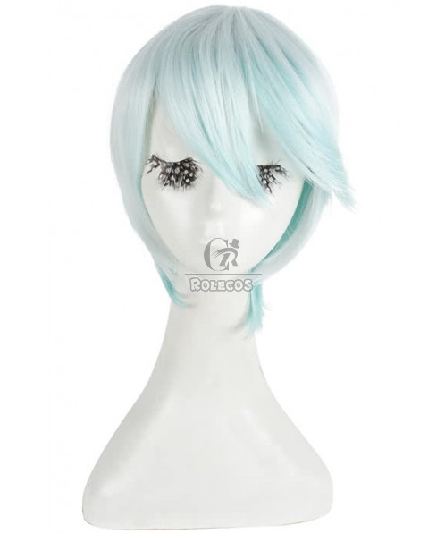 30cm Short Tales Of Zestiria Mint Green Coplsy Wig