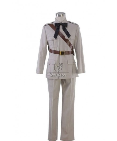 Axis Powers Hetalia Spain 1st Cosplay Costume