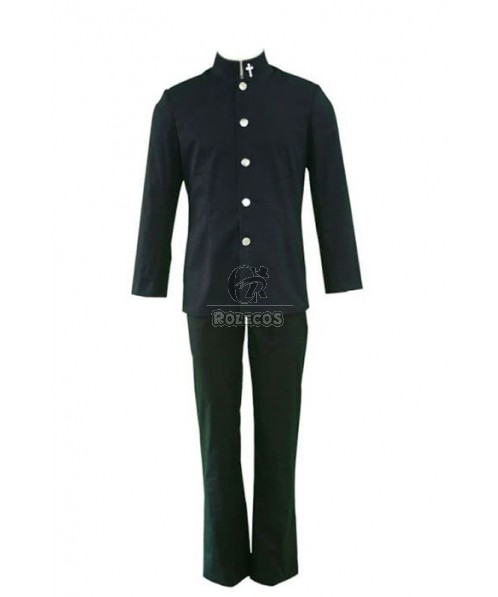 ZONE-00 SHIMA Black Cosplay Costume