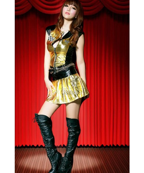 Football Cheerleader Costumes With Special  Color