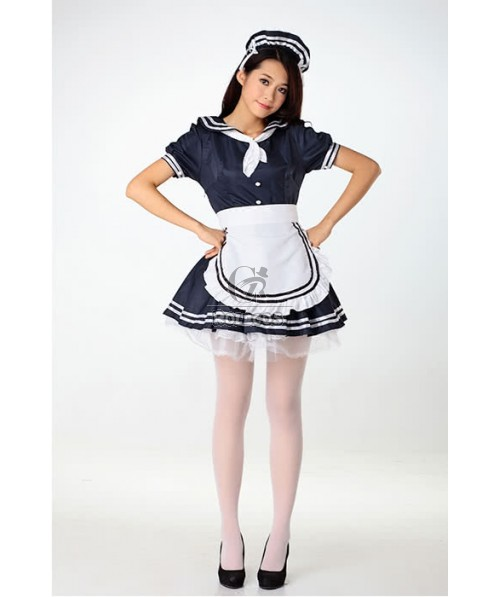Sexy Lingerie Babydolls Japanese Maid Cosplay Costumes