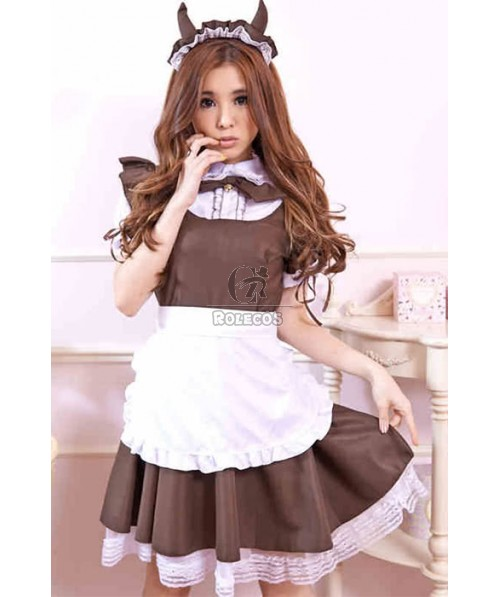 Japanese Maid Outfit Uniform Temptation Coffee Cosplay Costumes