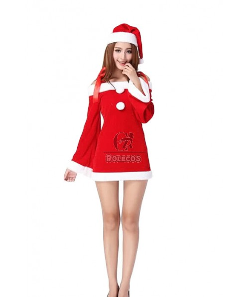 K-ON! Christmas Cosplay Costume