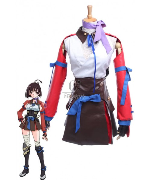 Kabaneri of the Iron Fortress Mumei Battle Female Full Set Cosplay Costumes