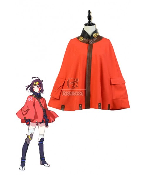 Kabaneri Of The Iron Fortress Mumei Cosplay Costumes Short Cloaks