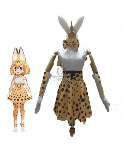 Kemono Friends Project Leptailurus serval Cosplay Costume