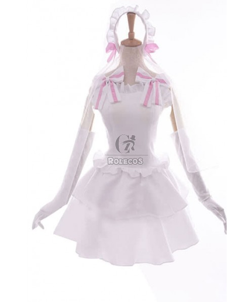 Love Live! Nozomi Tojo Anime Cosplay Costumes White Little Formal Dress Bridesmaid Dresses