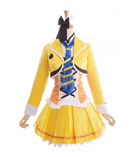 Love Live! Sunny Day Song Eli Ayase  Anime Cosplay Costumes Stage Dresses