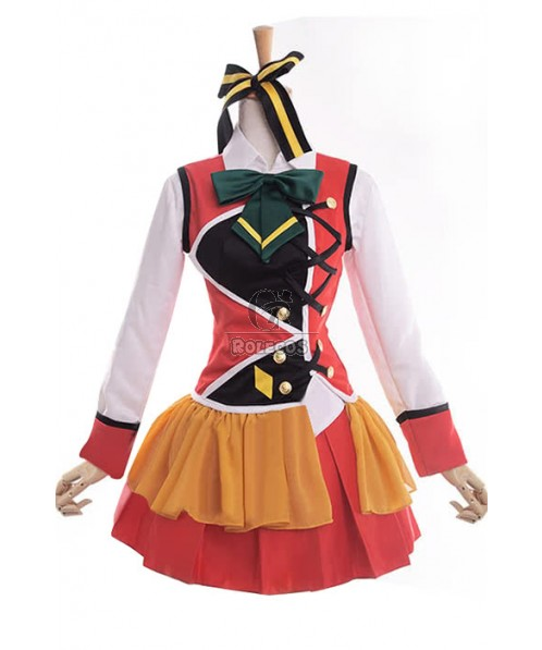 Love Live! Kotori Minami Anime Cosplay Costumes Theatrical Version Stage Dresses