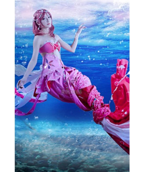 Love Live! Mermaids Awaken Tails Costumes Maki Nishikino Anime Cosplay Costumes