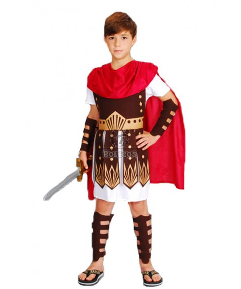 Halloween Rome Samurai Sparta Children Boys Cosplay Costumes