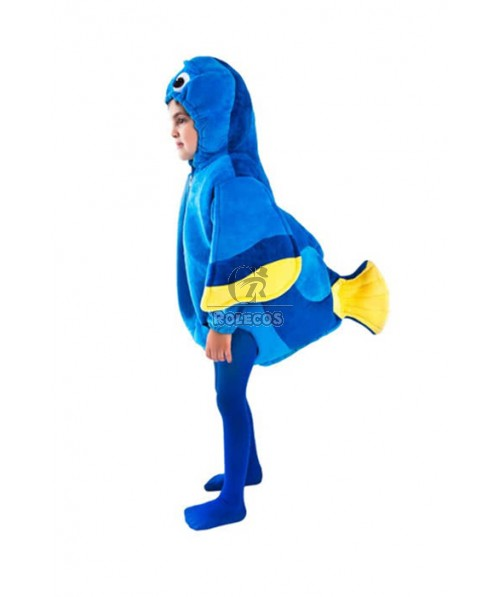 Dori Children Christmas Costumes Fish Shape Costumes