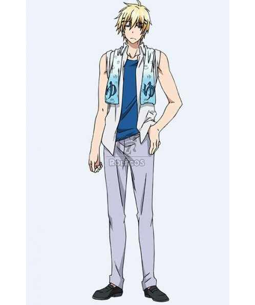 Servamp Tetsu Sendagaya Customized Anime Cosplay Costumes