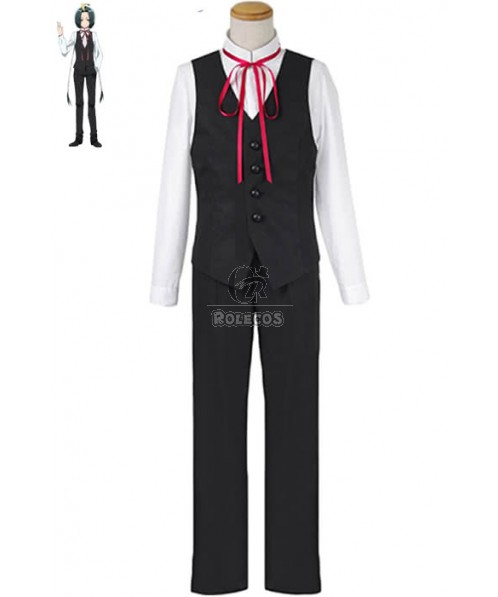 Twin Star Exorcists Seigen Amawaka Anime Cosplay Costumes