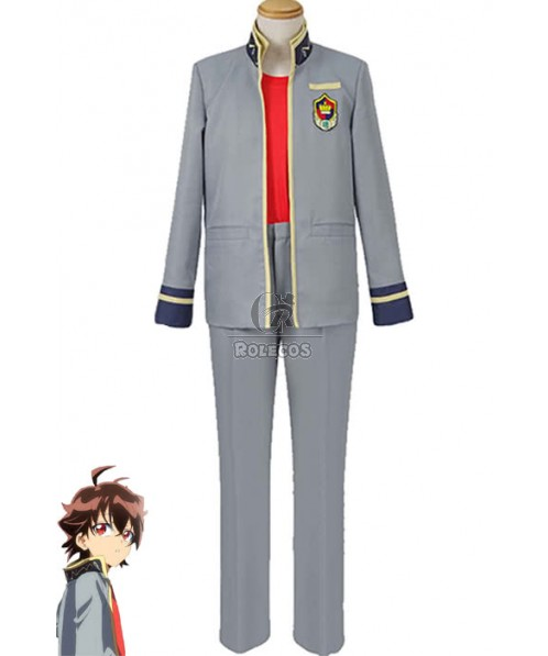 Twin Star Exorcists Rokuro Enmado Anime Cosplay Costumes Casual Uniforms