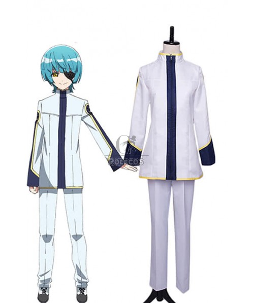 Twin Star Exorcists Yūto Ijika Anime Cosplay Costumes Casual Uniforms