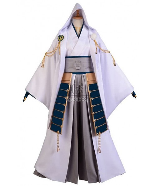 Touken Ranbu Tsurumaru Kuninaga Uniform Cosplay Costume With Corselet