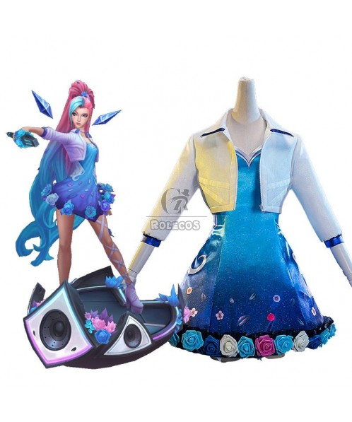 LOL KDA ALL OUT Seraphine Song Suit Cosplay Costume