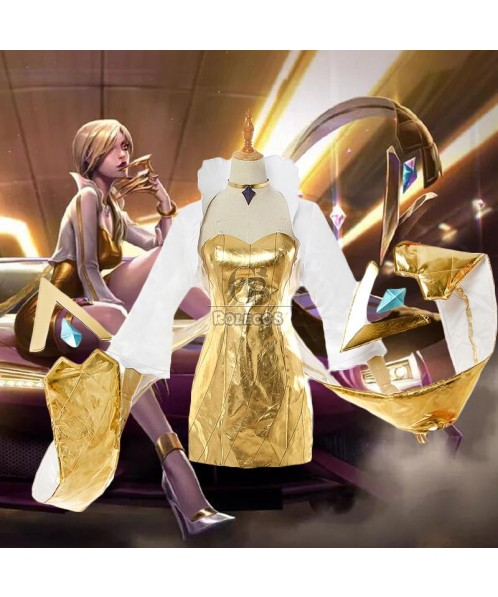 LOL Prestige KDA Evelynn Cosplay Costume Full Sets