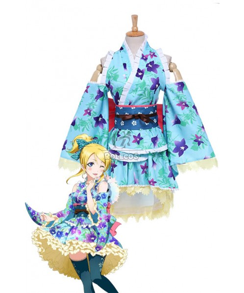 Love Live! Bathrobes Awaken Eli Ayase Anime Cosplay Costumes
