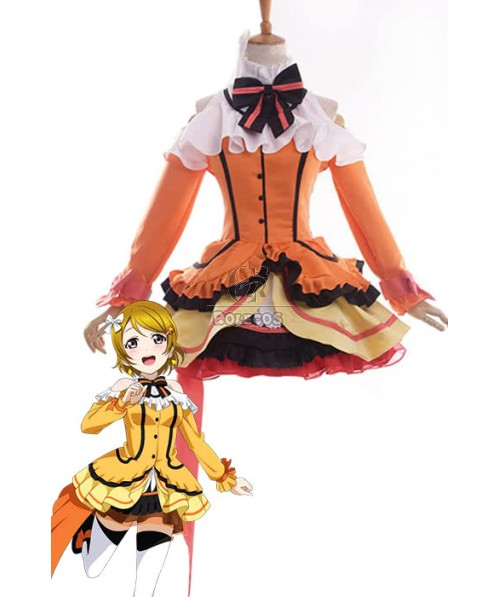 Love Live! Kira-Kira Sensation Hanayo Koizumi Anime Cosplay Costumes Stage Dresses