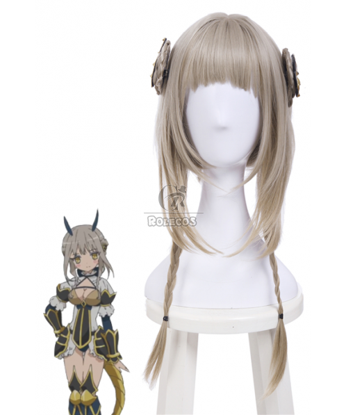 Magical Girl Raising Project La Pucelle Long Synthetic Flaxen Cosplay Wigs