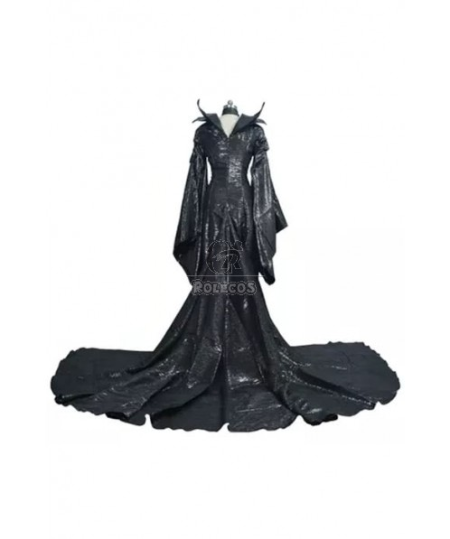 Maleficent Movie Cosplay Costumes Long Dresses
