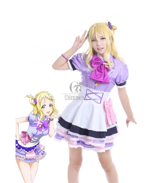 Love Live! Sunshine Aqours Mari Ohara Anime Cosplay Costumes Performance Dresses