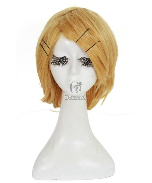 30cm Short Cosplay Wig with  Blonde of Kagamine Rin