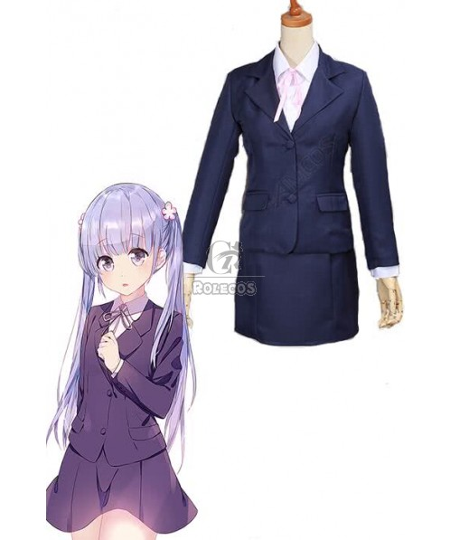 New Game!Suzukaze Aoba Uniform Cosplay Costumes