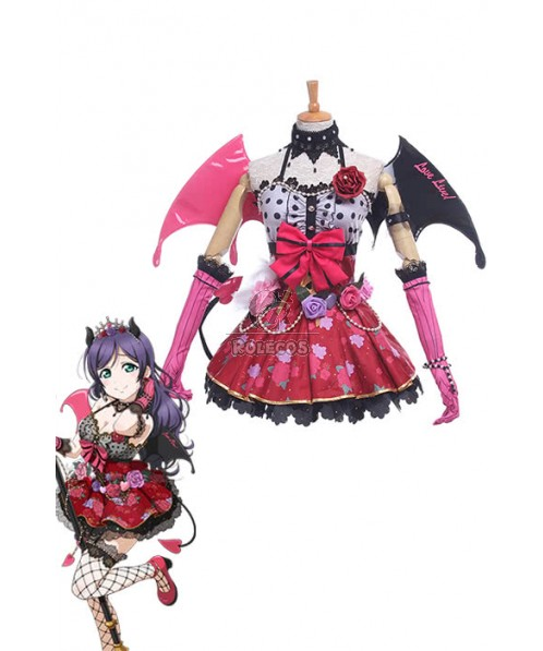 Love Live Little Devil Cosplay Nozomi Tojo Costumes Halloween Costumes For Girls Women GC220A
