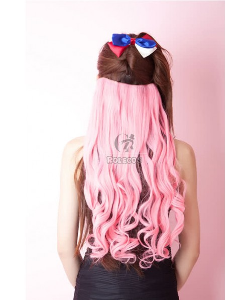 5 Colors Colorful 50cm Long Curly / Wave Clip in Hair Extensions
