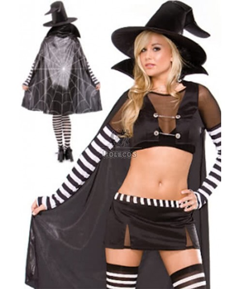Sexy witch wicked Halloween costume vintage dress outfit adult women
