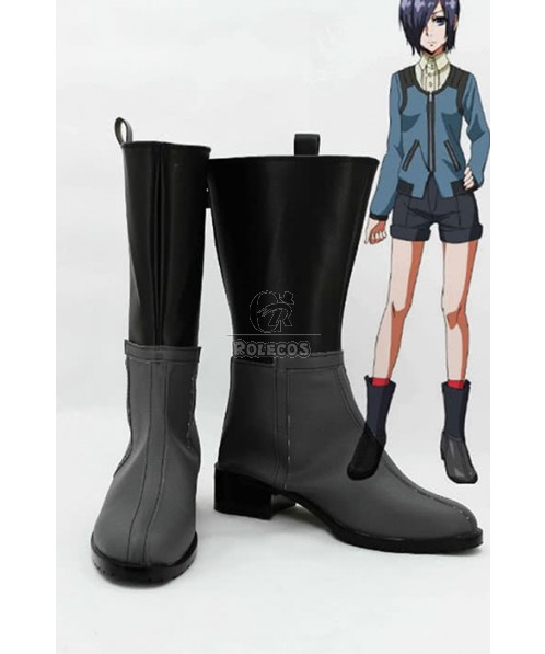 Anime Tokyo Ghoul Touka Kirishima Boots Cosplay Shoes Boots