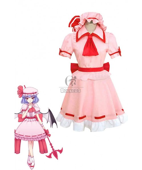 Touhou Project Remilia Scarlet Cosplay Costume Custom Made
