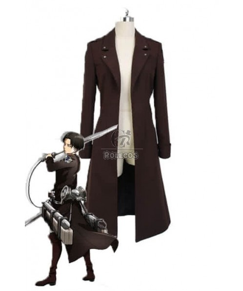 Rivaille Attack On Titan Cosplay Uniform Windbreaker