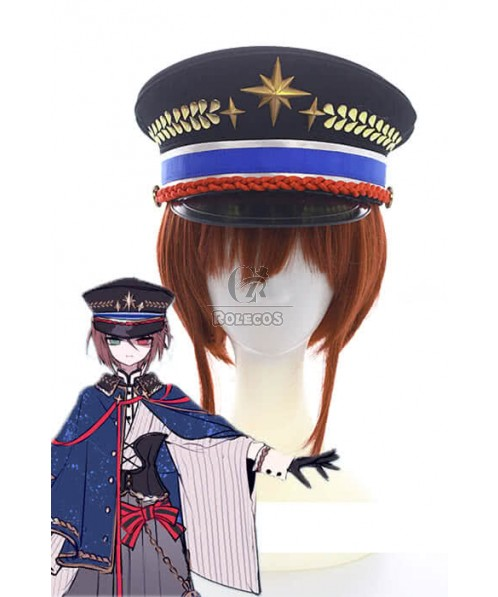 Rozen Maiden Souseiseki Short Brown Synthetic Anime Cosplay Wigs