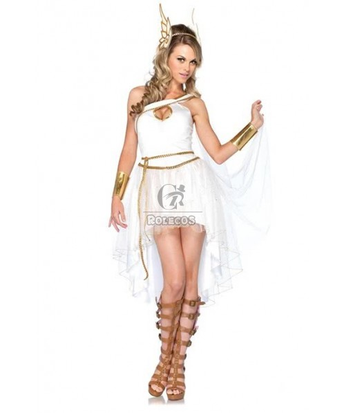 Cosplay Halloween Arab queen Cleopatra Dress Drag Fitted Costume