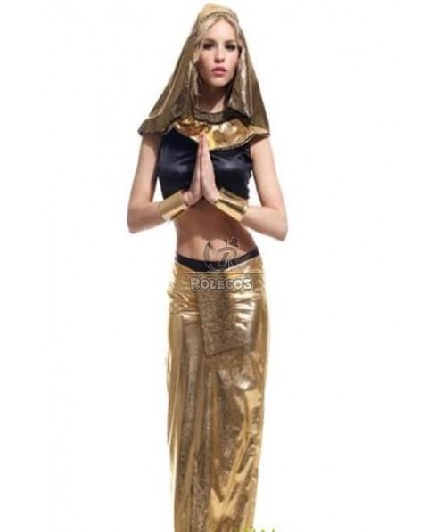 Cleopatra Halloween Costume Dress Queen Nile Egyptian