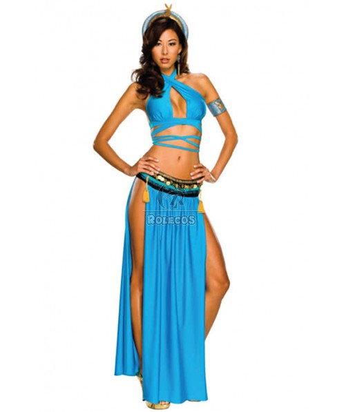 Playboy Secret Wishes Sexy Cleopatra Halloween Cosplay Costume