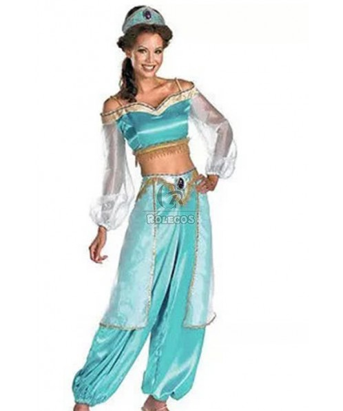 Attractive Genie Halloween Cosplay Costume
