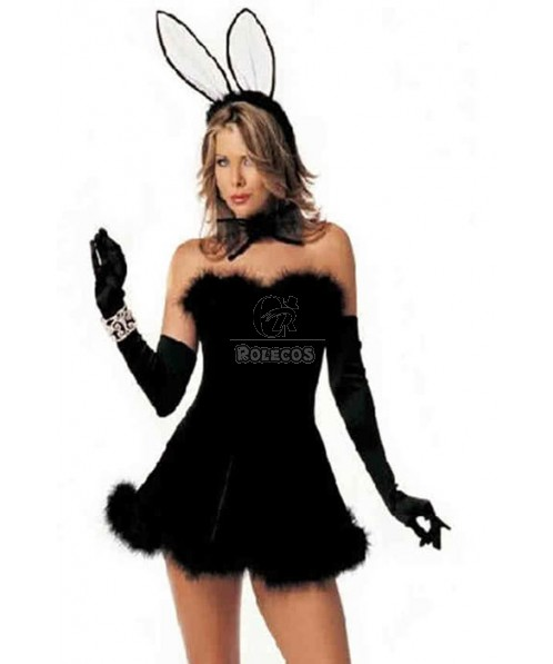 Sexy Adult Halloween bunny Costume Funny Costume